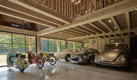 garage oldtimer houten garage voor oldtimers in eik bogarden