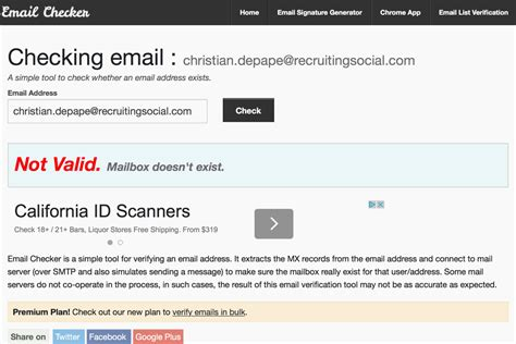 email checker how to find a job candidate s email address 4 handy tricks