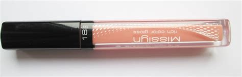 Misslyn Rich Color Gloss 176 4 5ml basia8212 misslyn błyszczyk rich color nr 18 apricot blush oraz małe por 243 wnanie z