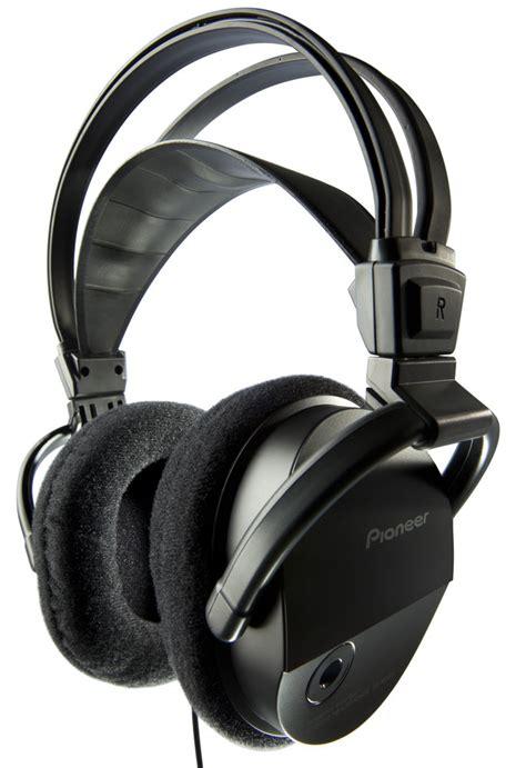 Headset Pioneer pioneer se m290 high performance ported av ear headphones black discontinued