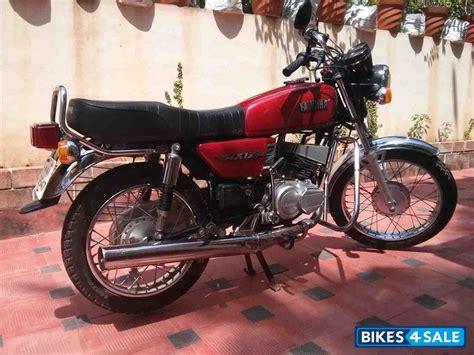 bike modification garage in bangalore trivandrum yamaha rxz 5 speed blue colour