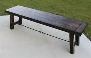ana white farmhouse table bench ana white benchright farmhouse bench diy projects