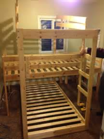 Boys Treehouse Bed - diy bunk bed plans from old pallets download how to build a wooden wagon for kids fearless44ozy