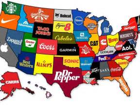 us map by brand the most brand in every state business insider