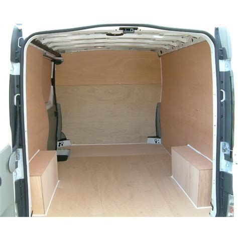 full plywood lining floor sides and wheelarches
