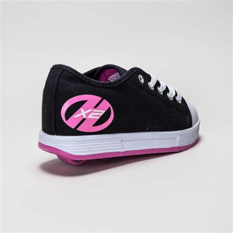heelys fresh x2 black pink skate shoes was 49 95 now