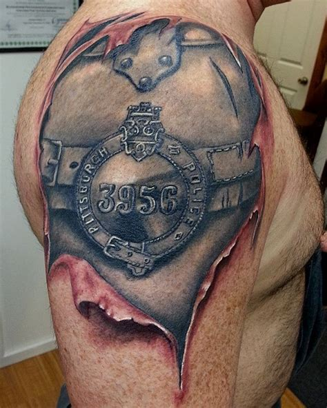 law enforcement tattoos 45 best references images on