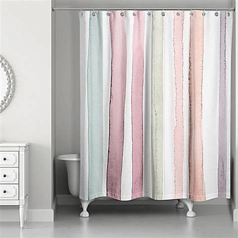 Pink And White Striped Curtains Best 25 Striped Shower Curtains Ideas On Pinterest Grey Striped Curtains Green Curtains