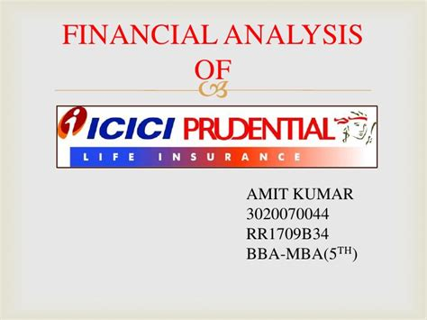 Prudential Financial Professional Associate Internship Mba by Financial Analysis Of Icici Prudential Insurance