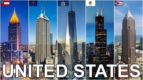 Top 150 Buildings In America by Tallest Buildings In Each U S State