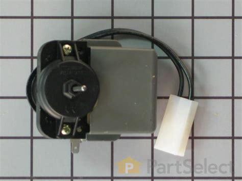 whirlpool evaporator fan motor whirlpool wp2315539 evaporator fan motor partselect