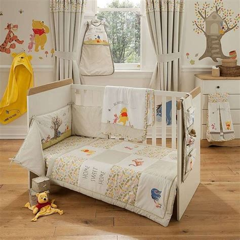 Winnie The Pooh Curtains For Nursery Classic Winnie The Pooh Nursery Decor Bedding Thenurseries