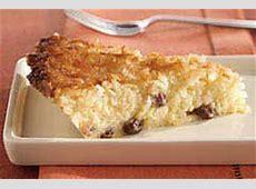 Impossible Coconut Pie - Kraft Recipes Impossible Chocolate Coconut Pie Recipe