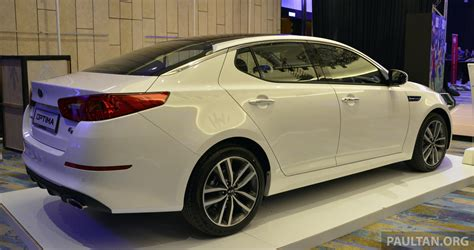 Kia Optima K5 Kia Optima K5 Facelift Officially Launched Rm149 888