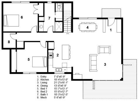 plano layout wikipedia plano de casa interior design plano de linda casa de dos