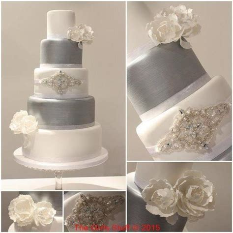 Silver Wedding Cake by What Are Silver Wedding Cakes And How Are They Made