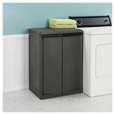 sterilite 4 shelf cabinet flat gray sterilite 174 2 shelf garage or utility storage cabinet