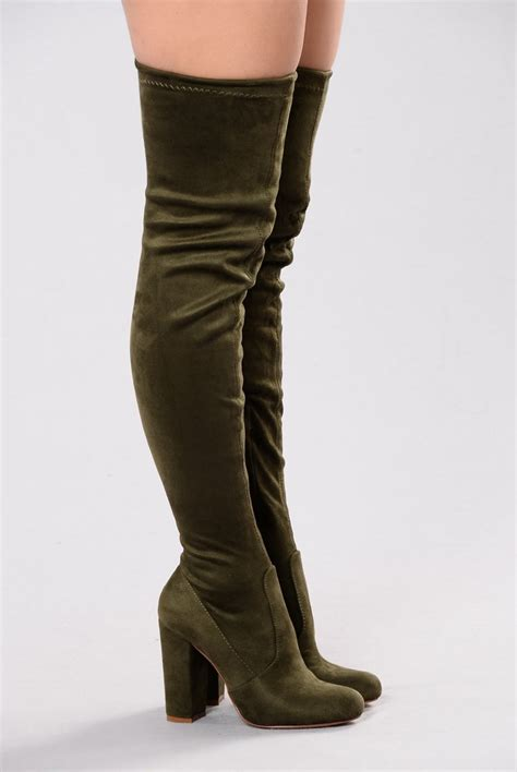 pretty thigh high boots pretty in thigh high boots olive