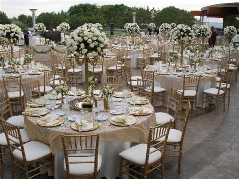 white gold wedding decorations tbdress sophisticated gold and white wedding theme