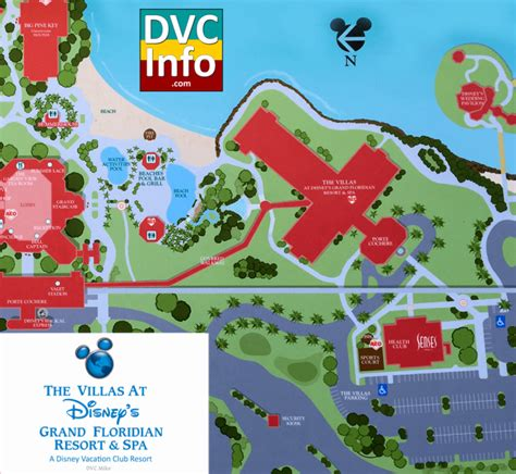 dvc map the villas at disney s grand floridian resort spa dvcinfo