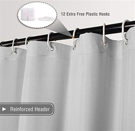 volens graygrey ruffle shower curtain farmhouse rustic