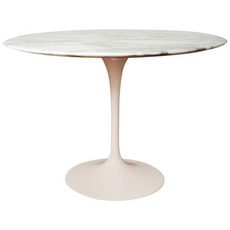 Eero Saarinen Marble Top Dining Table For Sale Eero Saarinen Tulip Marble Dining Table For Knoll