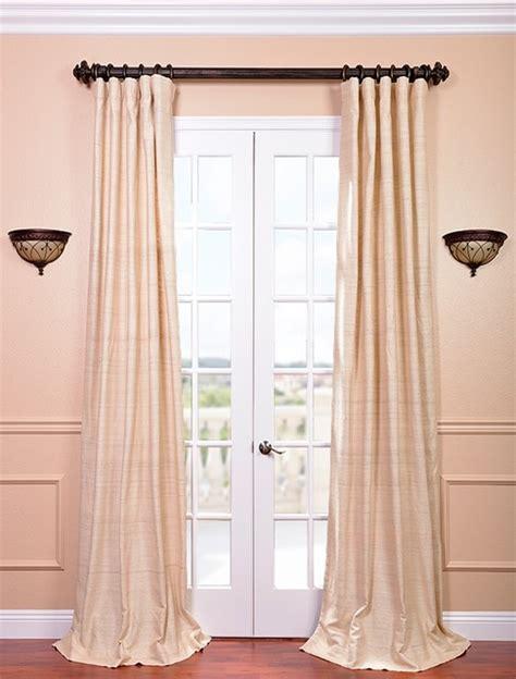 raw silk drapes cancun sand raw silk curtain contemporary curtains