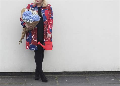 Floral Print Coat From Boden by Ootd Getting Ready For Chelsea Flower Show With Kate