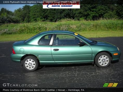 plymouth neon 1999 alpine green pearl 1999 plymouth neon highline coupe