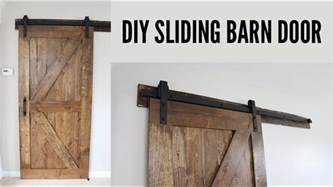 How To Make Sliding Barn Doors Diy Sliding Barn Door