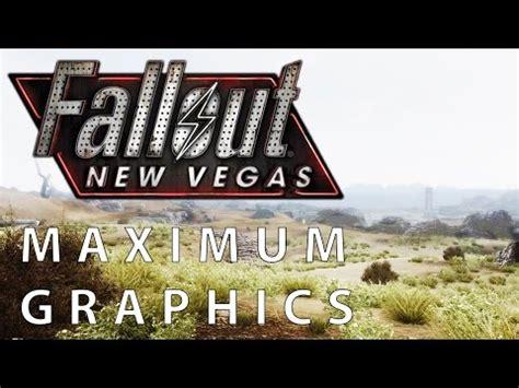 fallout new vegas better graphics fallout new vegas maximum graphics mod overhaul vs