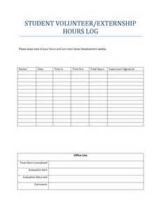 Volunteer Hours Log Template by Best Photos Of Volunteer Hours Log Template Volunteer