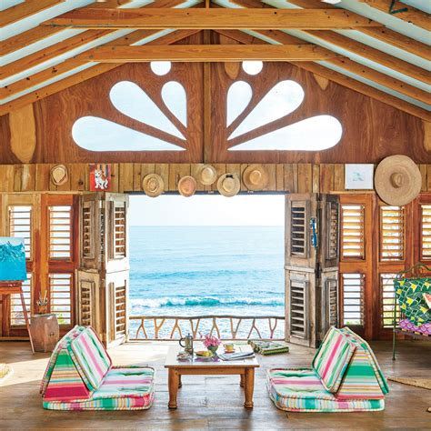 bohemian jamaican cottage coastal living