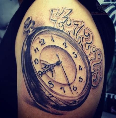tatouage montre et horloge 44 sublimes dessins de montre