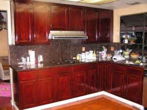 red mahogany stain kitchen cabinets kitchen mahogany maple reds cabinet styles