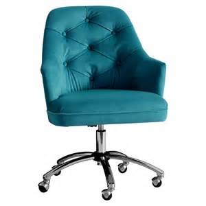 Pbteen Desk Velvet Tufted Desk Chair Pbteen