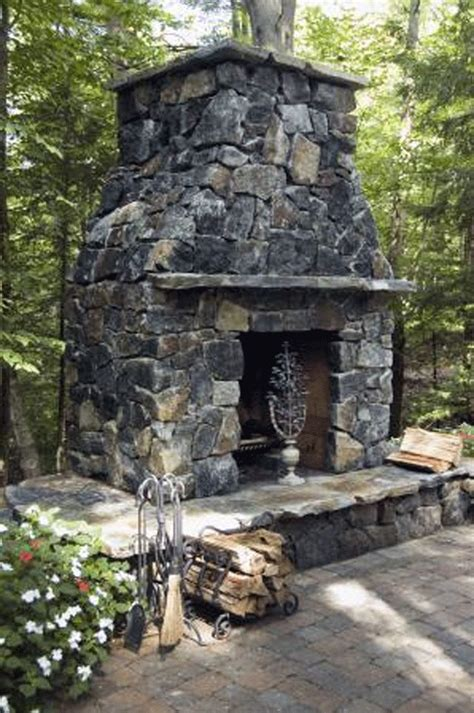 outdoor stone fireplace 12 best outdoor mantels images on pinterest rustic