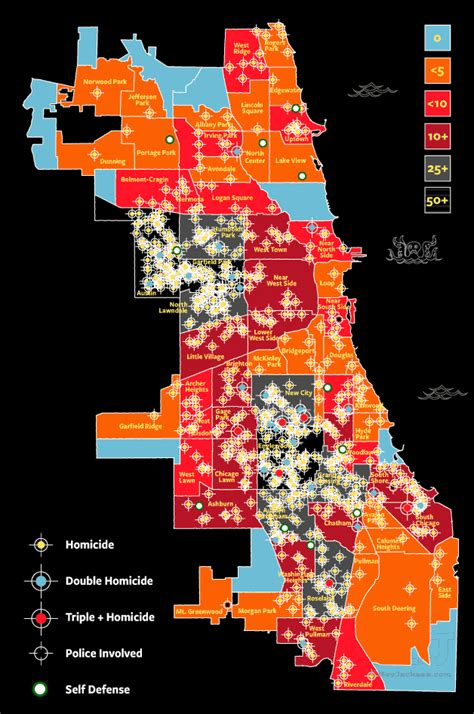 chicago homicide map 2016 deadliest hoods chicago murder crime
