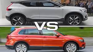 Volkswagen Or Volvo 2016 Volvo Xc40 Concept Vs 2017 Volkswagen Tiguan