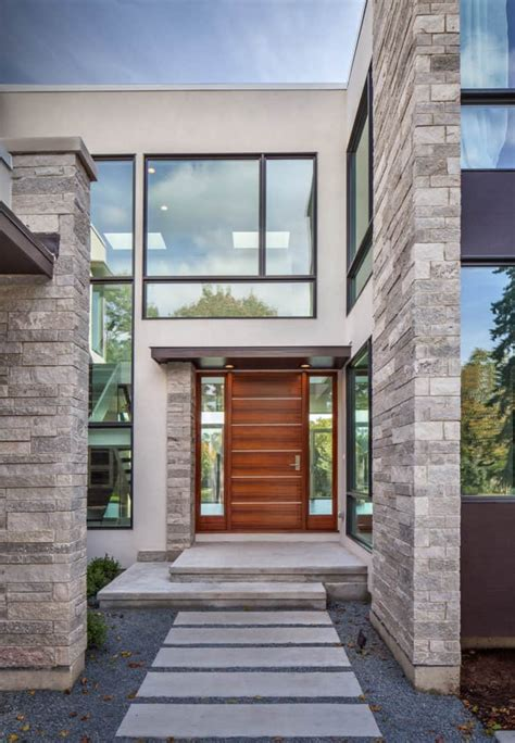architectural home design front elevations  modern