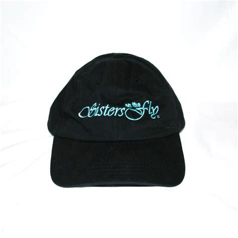 Logo Baseball Hat official logo baseball hat black on the fly