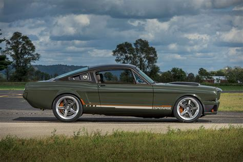1965 ford mustangs 1965 ford mustang espionage by ringbrothers hiconsumption