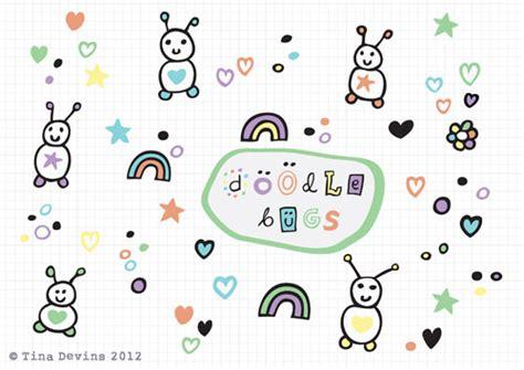 doodle name tina doodle bugs design