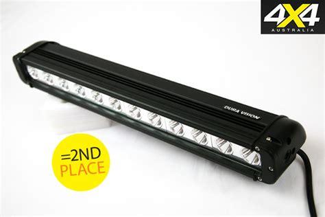 led light bar australia led light bars comparison 4x4 australia