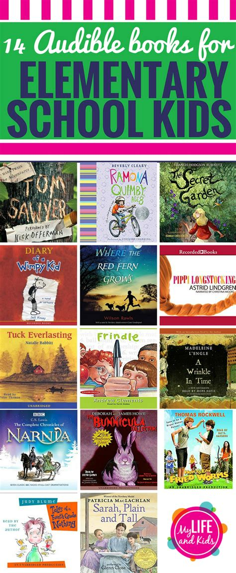 elementary picture books 14 of the best audible books for in elementary school