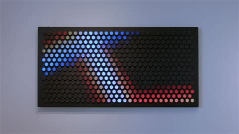designboom everbright everbright giant interactive lite brite wall for adults