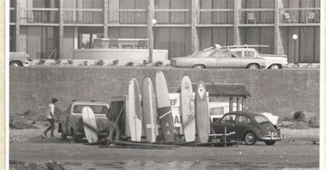 vintage  black  white surfing photo galveston texas surf shop texas history pinterest