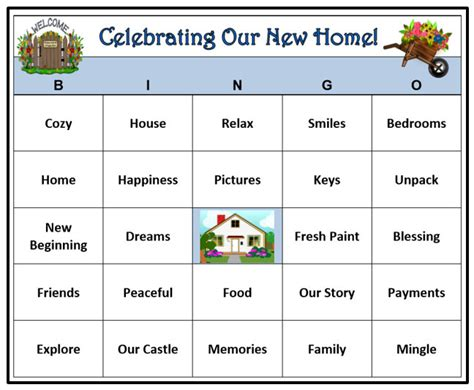 printable housewarming bingo cards housewarming party bingo game 30 cards house and home party