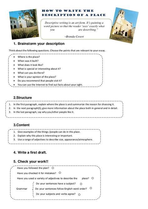 Descriptive Essay Ideas by Best 25 Exles Of Descriptive Writing Ideas On Exles Of Adjectives Exles