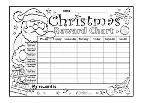 printable christmas reward charts view and print the quot christmas reward chart quot activity